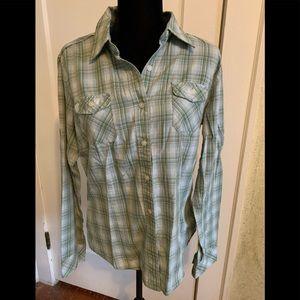 North Face button down shirt